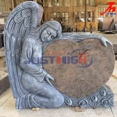Polish heart shaped monument with